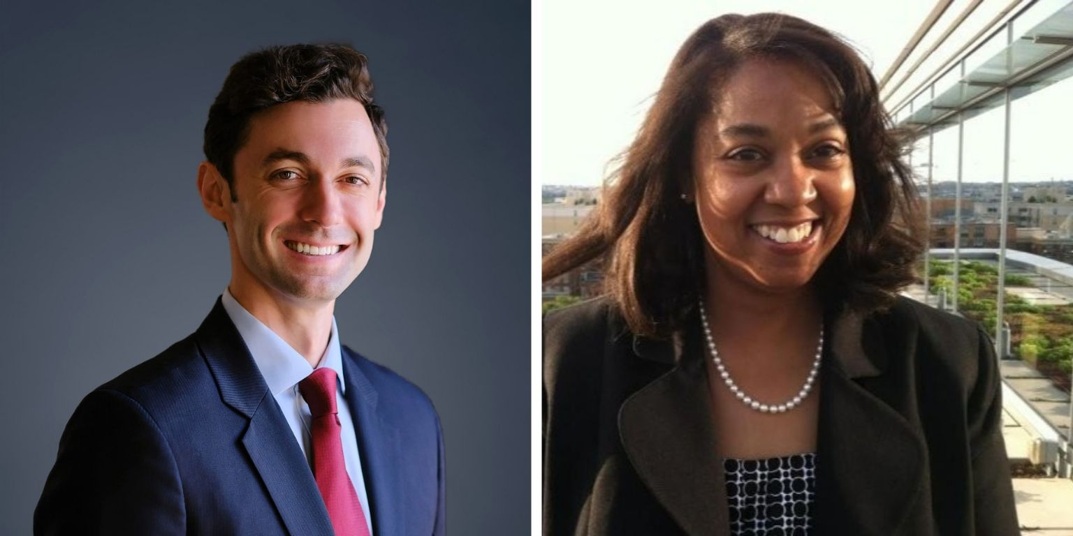 Senator Jon Ossoff & Legislative Director Donni Turner