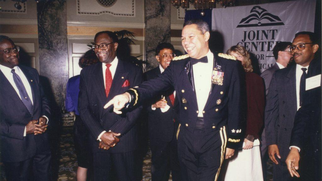Eddie N. Williams & Colin Powell